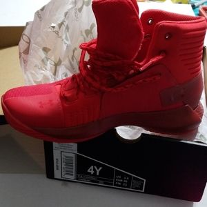 BRAND NEW! Under armour red sneakers